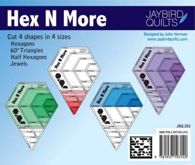 Full colour instructions for the Hex N More Ruler
