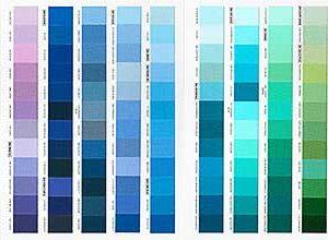 Full Kona Colour Card 340 Colours